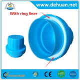 Dehuan Supermarket High Quality Laundry Plastic Cap with White Ring