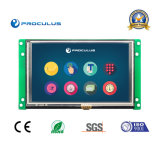 5′′ 800*480 TFT LCD Module with High Brightness Resistive Touch Screen for Coffee Machine