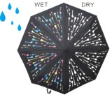 Color-Changeable When Wet Straight Umbrella (YSS0005)