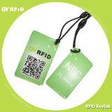 NFC Keyfobs, RFID Keyfobs with Logo Printed