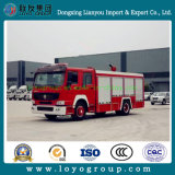 HOWO 4X2 Water Tank Fire Truck for Sale