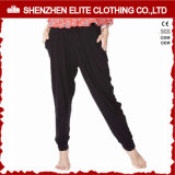 Wholesale Cheap Hot Selling Polyester Yoga Pants with Pockets (ELTLI-106)