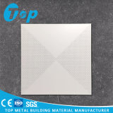 2017 Factory Supplied Aluminum Perforated Clip in Square Ceiling Tile