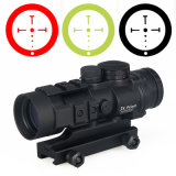 Cl1-0309 Tactical Scope 3X Prism Red DOT Sight with Ballistic Cq Reticle