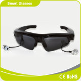 Hot Selling Smart bluetooth MP3 Sunglasses with an Excellent Wired Earphone
