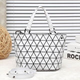 Small Size Matt White Rhombic Women Bag (A0107-3)