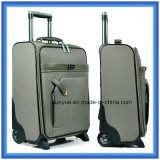 Factory Make Custom Nylon Travel Suitcase/Luggage Bag, Practical Big Capacity Trolley Case with Wheels