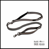 Elastic Extendable Waist Running Pet Dog Lead with Training Handle