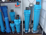 Multi Stage Industrial High Quality H Series Compressed Air Cartridge Filter Housing for Oil Treatment