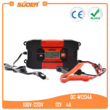 Suoer Fully Auto Digital 12V 4A Car Battery Charger (DC-W1204A)