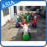 Factory Direct Inflatable Pony Hop Racing, Inflatable Jumping Horse Racing