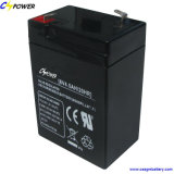 6V4.5ah Rechargeable Maintenance Free AGM SLA Battery Electronic Scale CS6-4.5