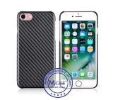 Trendy Fashionable Design Carbon Fiber Twill Textured Feel Case for iPhone 7 Telephone Cover