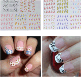 Flower Pattern Water Transfer Nail Art Stickers Nail Sticker