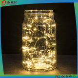 Holiday Decoration Copper Wire Yellow Color String LED Lighting