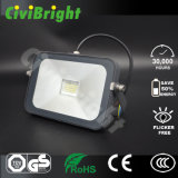 Stable Wide Voltage 30W LED Floodlight of Waterproof