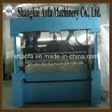Hydraulic Cutting Color Steel Plate Roofing Roll Forming Machine