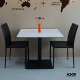 Modern Luxury Solid Surface Stone Marble Dining Table Set