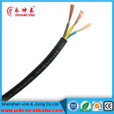 Rvv 3 Core Copper Core PVC Sheath Flexible Cable