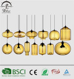 Modern European Creative Colorful Glass Pendant Lights for Decoration