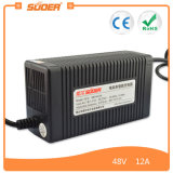 Suoer 1A 48V Lead Acid Electric Bike Battery Charger (MB-4812A)