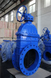 ANSI Non-Rising Stem Rubber Gate Valve with Ce ISO Wras (Z45X-10/16)