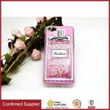 Perfume Bottle Dynamic Flowing Liquid Glitter Quicksand Transparent TPU Case