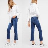 Midway Gusset Zipper Crop Jeans Trousers