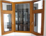 European Style Aluminum Clad Wood Window