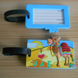 Travel 3D PVC UAE Camel Luggage Tag