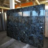 High-Polished Lemurian Blue Granite Slab for Wall Decoration/Countertop/Worktop/Hall Flooring
