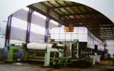 Toilet and Tissue Paper Machine