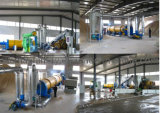 Rotary/Drum type Dryer for sawdust and straw