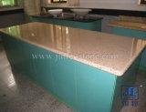 Prefab Rusty Yellow Granite Worktop for Kitchen