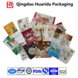 Vacuum Snack Frozen Food Packaging Bag with Colorful Printing