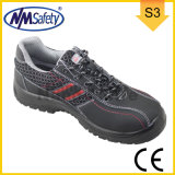 Nmsafety Nubuck Leather Outdoor Sports Safety Shoes