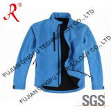 Men′s Softshell Jacket with Classic Style (QF-468)