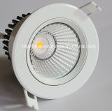 15W Epistar COB Dimmable LED Ceiling Downlight with Ce RoHS