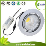 30W 4-Way Orientable COB LED Downlight with 3 Years Warranty