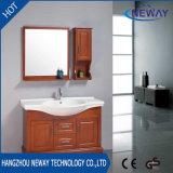 Factory Floor Standing Solid Wood Bathroom Vanity Modern