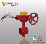 Ductile Iron Grooved End Valve with Output Signal (WDS)
