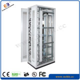 """19"""" Electrical Rack with Front Double Flat Vented Doors"""