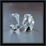 Faceted Crystal Blank Block