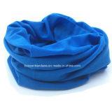 OEM Produce Customized Color Dyed Blue Neck Tube Buff Bandana