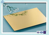 Copper Aluminum Mirror/Bright/Reflective/Polished Plate/Sheet for iPad Shell/Hull/Case