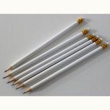 Round Shape Wooden Pencils Hb with Eraser Tip