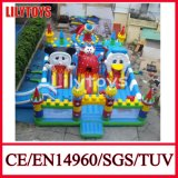 Deluxe Party Amusement Park Inflatable Fun City for Sale (J-IFCT-003)