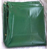 China Green Poly Tarpaulin Cover Sheet