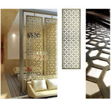 Metal Stainless Steel Copper Folding Screen for Divider Partition