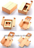 Foldable Brown Paper Shipping Box Special Design with No Printing